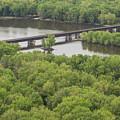 Wisconsin River Overlook 2 by John Brueske