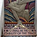 Wisdom Lords Over Rockefeller Center by Lorraine Devon Wilke