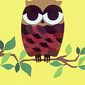 Wise Owl by Lucyna A M Green