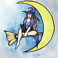 Witch And Moon by BubbSnugg LC