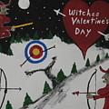 Witches Valentine's Day by Jeffrey Koss