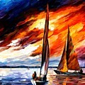 With The Wind by Leonid Afremov