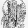 Wizard Iv - Wandering Wiseman - Pax Consensio by Steven Paul Carlson