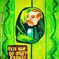 Wizard Of Oz Gate Keeper  by Jo-Ann Hayden