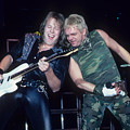 Wolf Hoffman And Udo With Accept by Rich Fuscia