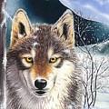 Wolf by Suntaree Nujai