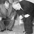 Wolfgang Pauli And Niels Bohr by Margrethe Bohr Collection and AIP and Photo Researchers