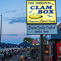 Wollaston Beach Quincy Ma Clam Box by Toby McGuire