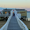 Wollaston Beach Yacht Club Pier Quincy Ma by Toby McGuire