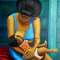 Woman And Child by Nicholas Beckford