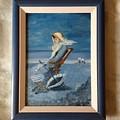 Woman At The Beach by Costin Tudor