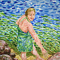 Woman At The River by Bonnie Follett