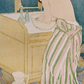 Woman Bathing by Mary Stevenson Cassatt