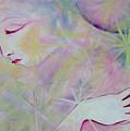 Woman Face Detail by Anne Cameron Cutri