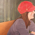 Woman In A Red Cap by Kevin Callahan
