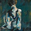 Woman In Blue by Allison Gammon