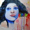 Woman In Blue by Sandy McIntire
