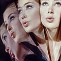Woman In Four Views by John Rawlings