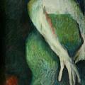 Woman In Green by Gideon Cohn