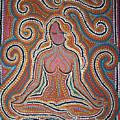 Woman In Meditative Bliss by Carola Joyce