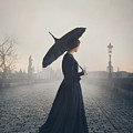 Woman In Mourning by Mark Owen