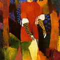 Woman In Park by August Macke