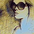 Woman In Sunglasses by Adrianna Majewska