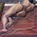 Woman On Blanket by John Clum