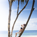 Woman On Holiday by Jorgo Photography - Wall Art Gallery