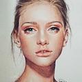 Woman Portrait by Rasha Mohammed