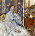 Woman Seated In An Armchair by Frederick Carl Frieseke