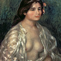 Woman Semi Nude by Pierre Auguste Renoir