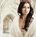 Woman Wearing Crown by Amanda Elwell