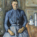 Woman With A Coffeepot  by Paul Cezanne