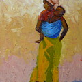 Woman With Baby by Yvonne Ankerman