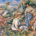Women in a Landscape by Renoir
