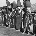 Women Of Camp by Munir Alawi