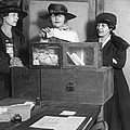 Women Voting In New York City by Underwood Archives