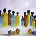Women Waiting by Terry Ann Morris