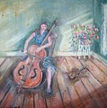 Women With Cello by Joseph Sandora Jr