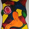 Women With Flower by Ieva Unda