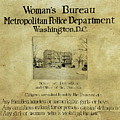 Women's Bureau House Of Detention Poster 1921 by Anthony Murphy