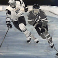 Women's Hockey by Richard Le Page
