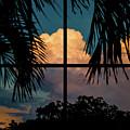 Sunset Wonder Outside My Window by Susan Molnar