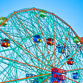 Wonder Wheel Amusement Park 1 by Jeelan Clark