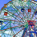 Wonder Wheel Amusement Park 3 by Jeelan Clark