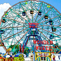 Wonder Wheel Amusement Park 6 by Jeelan Clark