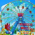 Wonder Wheel Amusement Park 7 by Jeelan Clark