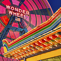 Wonder Wheel At Coney Island by Susan Candelario