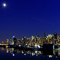 Wonderful Autumn Night In Port Vancouver by Andrew Kim